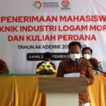 PKKMB Politeknik Industri Logam Morowali Berlangsung Khidmat